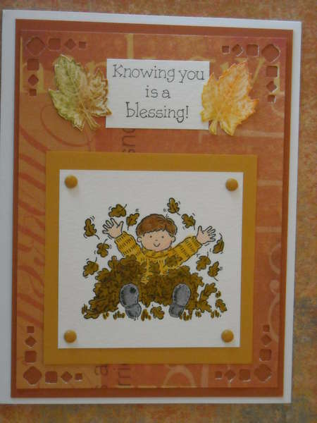 Knowing you is a blessing!