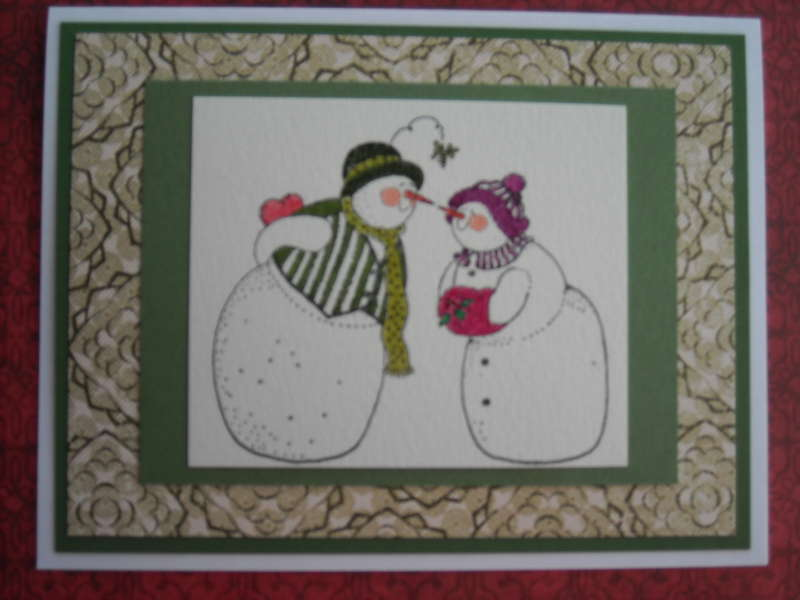 Mr and Mrs Frosty