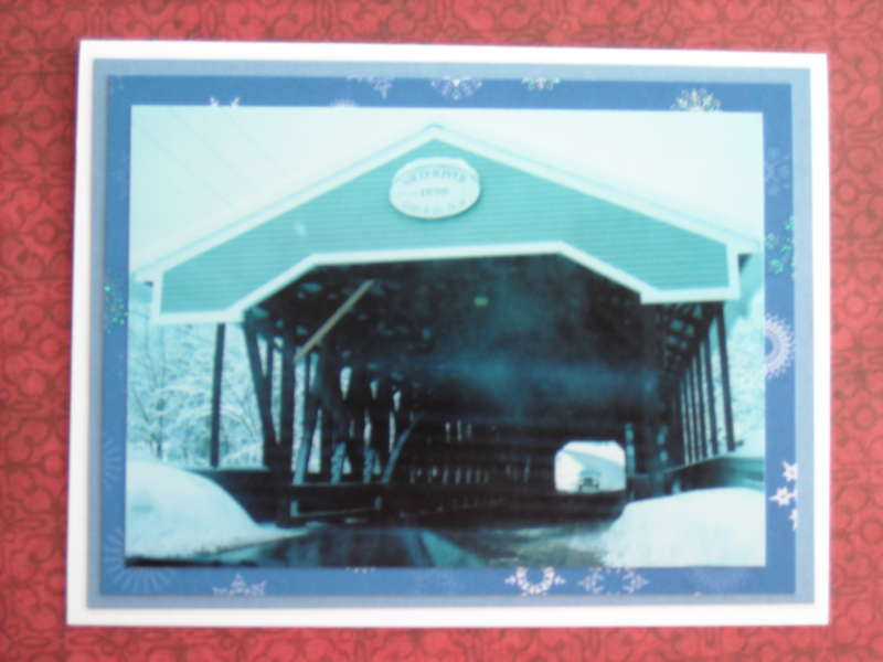 Covered Bridge in Conway, NH