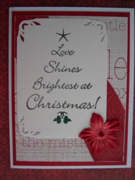 Love Shines Brightest at Christmas!