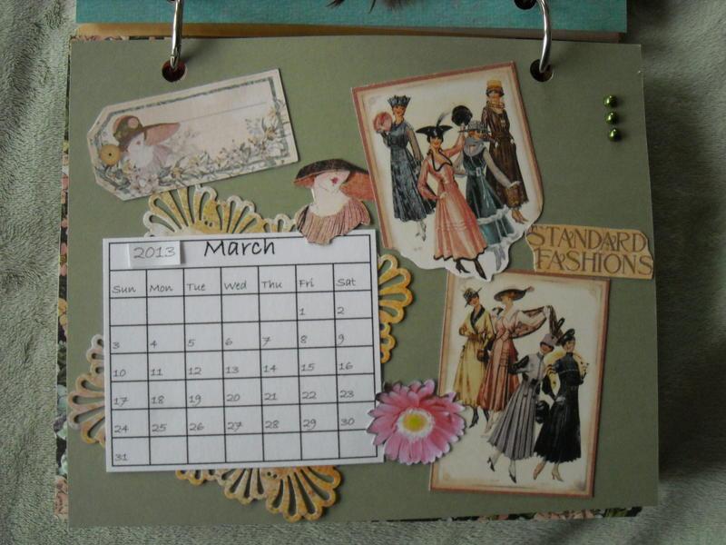 2013 Ladies Diary Desk Calendar & Favorite Quotes