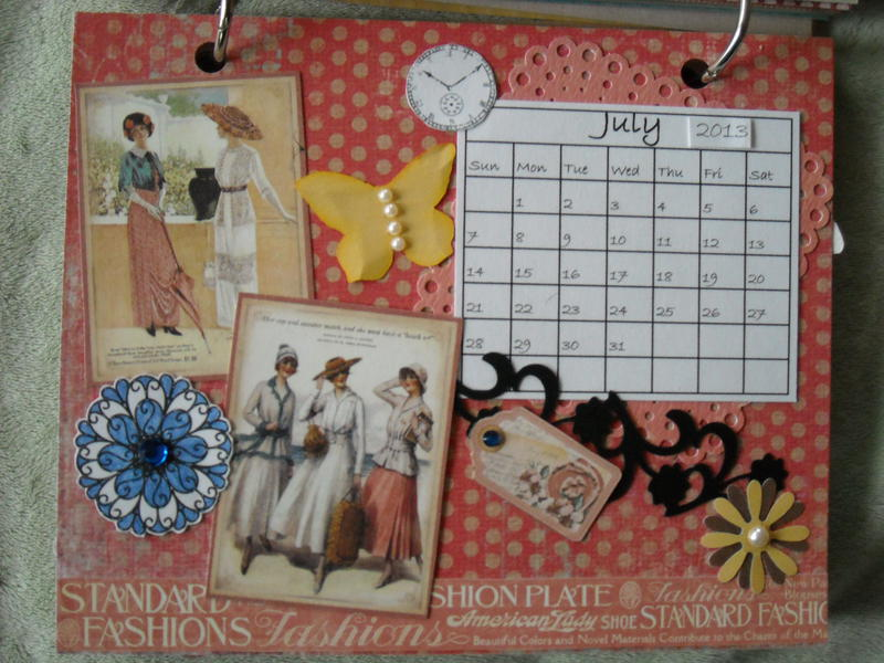 2013 Ladies Diary Desk Calendar & Favorite Quotes