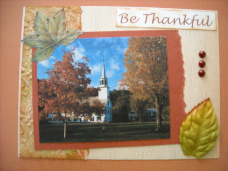 Be Thanksful