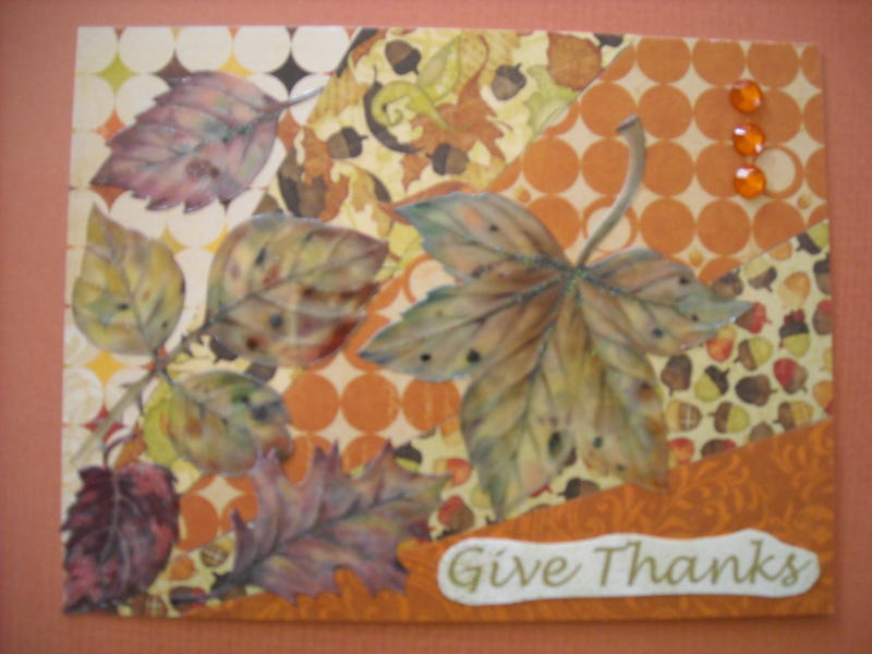 Give Thanks for Autumn Leaves