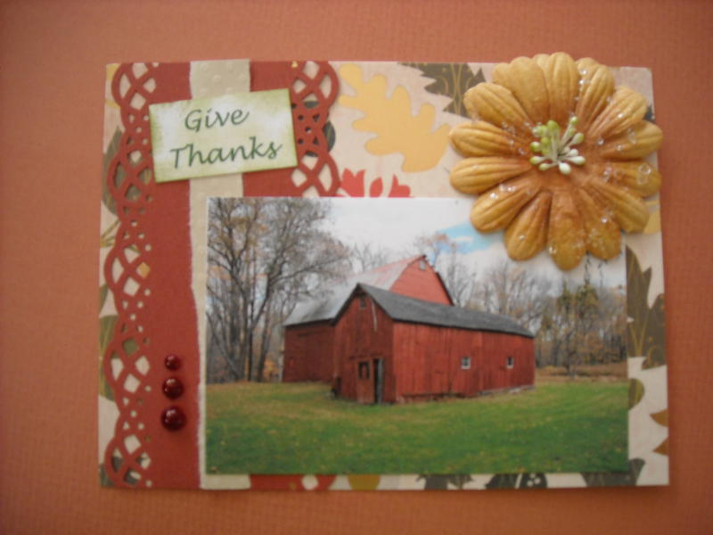 Give Thanks for the Old Red Barn