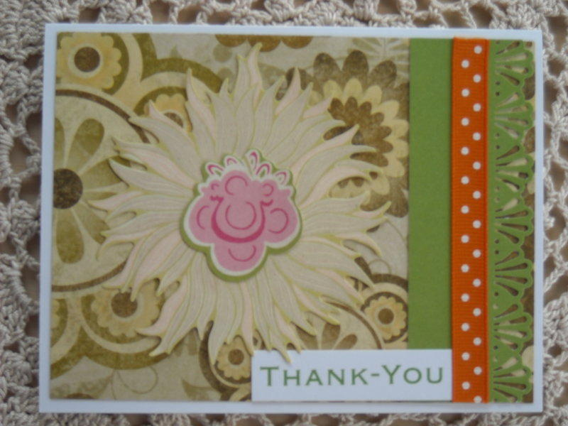 Fluffy Flower Thank-You