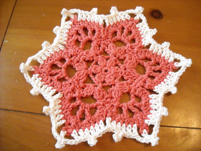 Snowflake Hot Mat