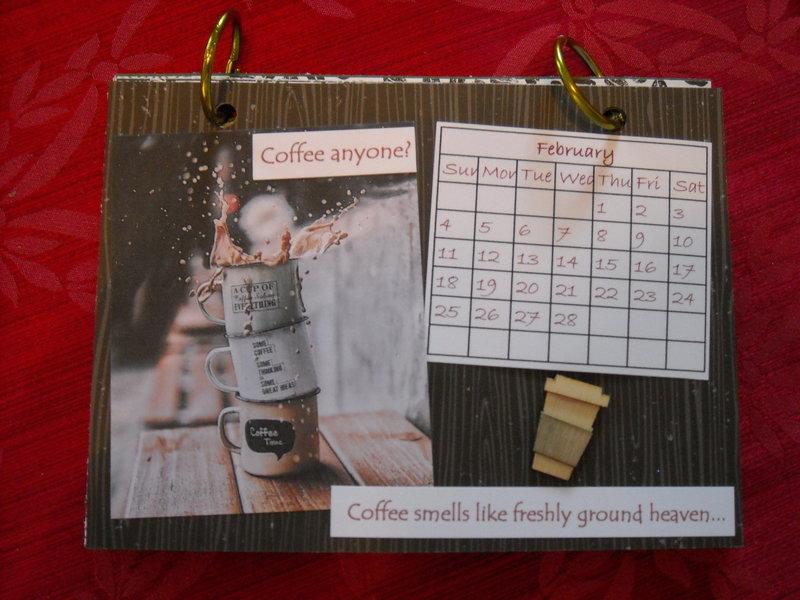 Coffee calendar - February