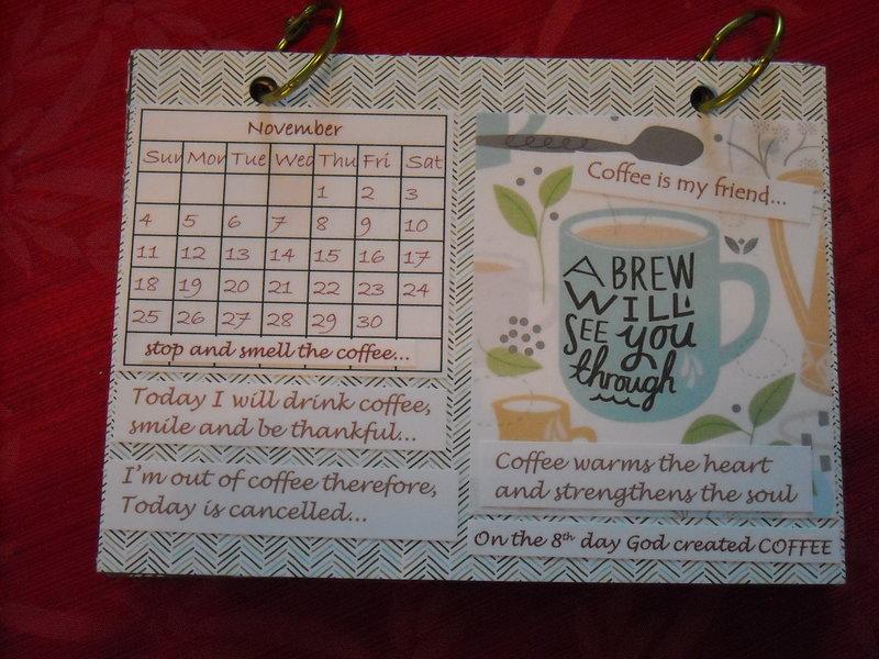Coffee calendar - November