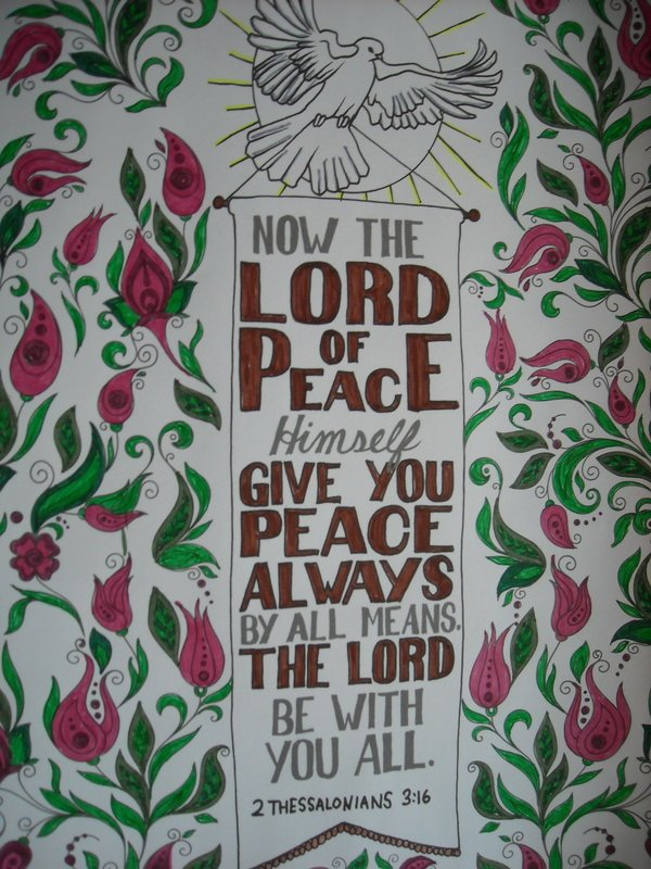 Now the LORD of Peace