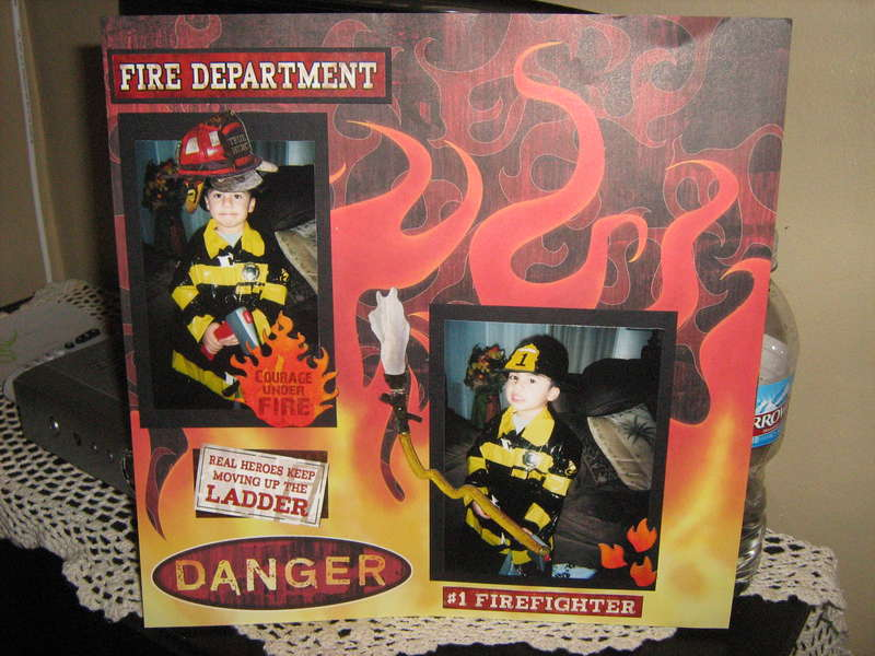 my little fire fighter