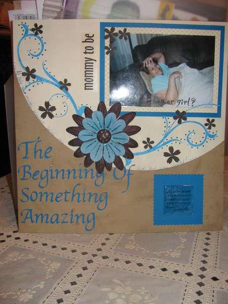 the begining of something amazing