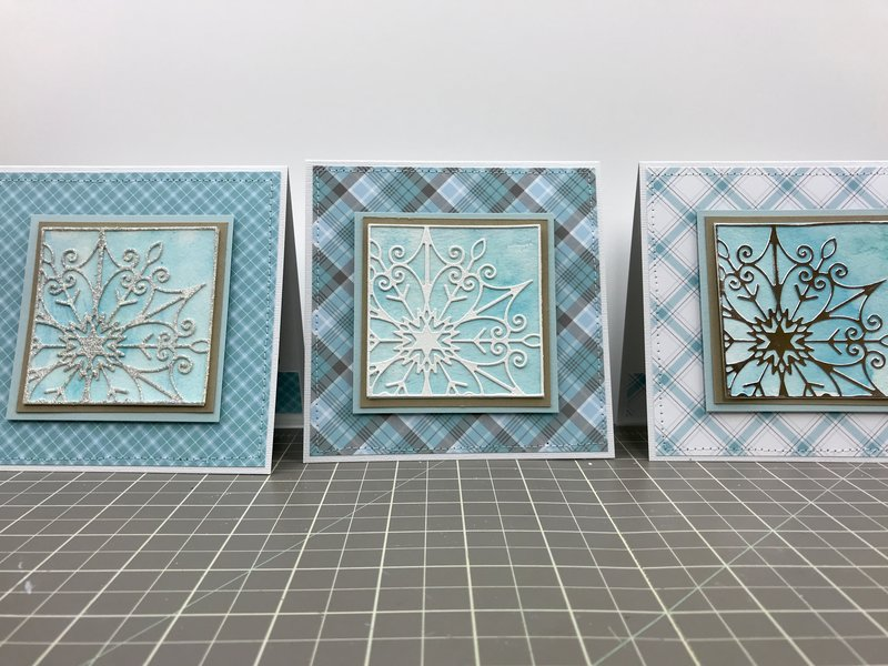 Snowflake Snippets Cards
