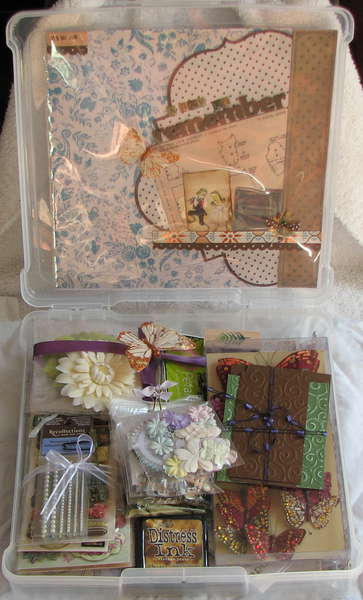 Vintage Wedding Album Kit