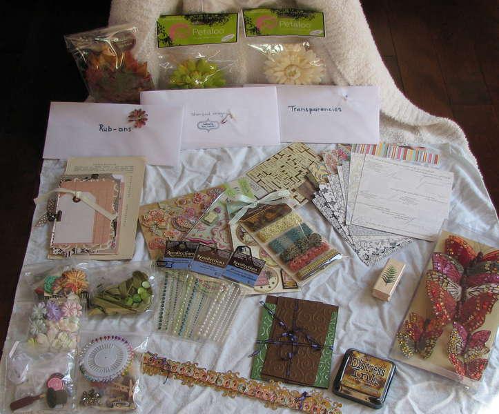 Vintage Wedding Kit Embellies