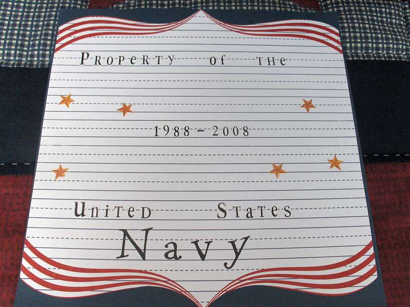 Property Of the USN