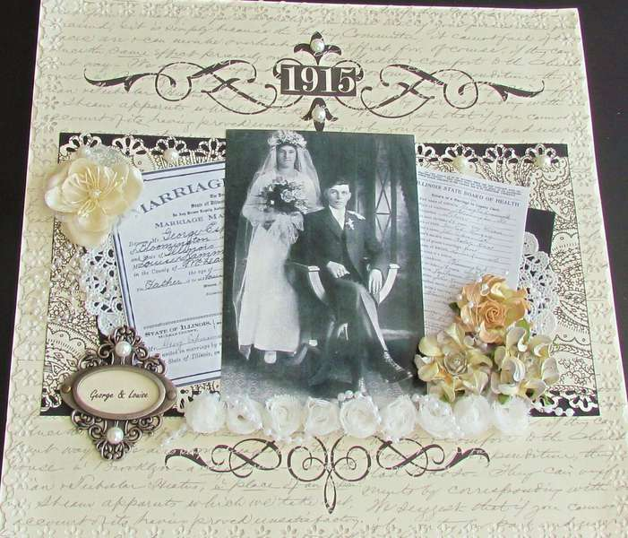 1915 Wedding