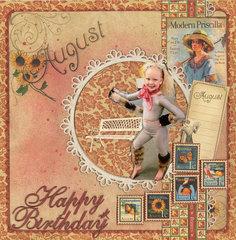 Happy Birthday  Larnie