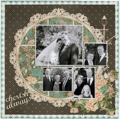 Cherish Always....Wedding page