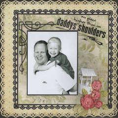 Daddy,s Shoulders...