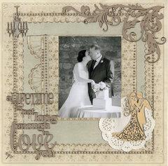 Wedding Album Page