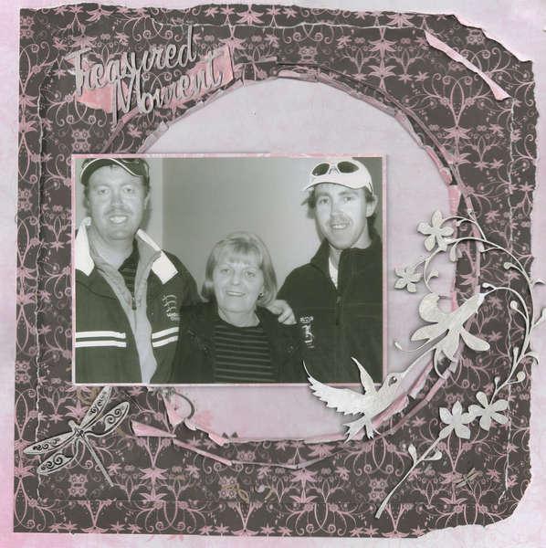 Treasured Moment ...Album Page