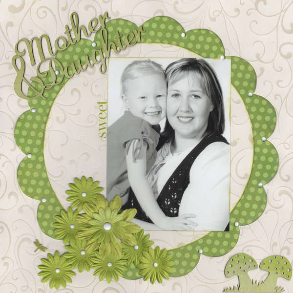 Mother & Daughter  Sweet Album Page