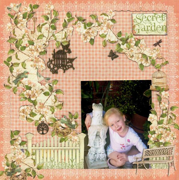 Larnie in her Secret Garden