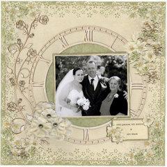 The Groom, His Bride, & His Mum