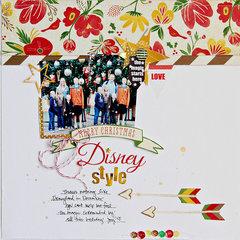 Merry Christmas Disney Style