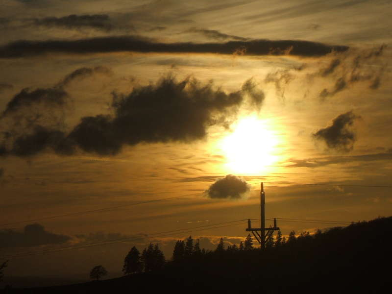 sunset...5-5-09