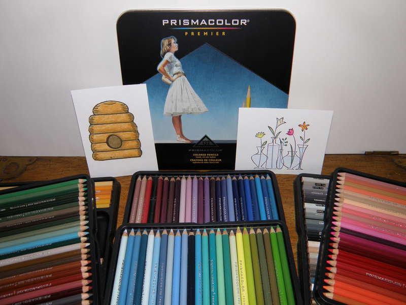 MINI MAR...1 It's a start...Colored pencils