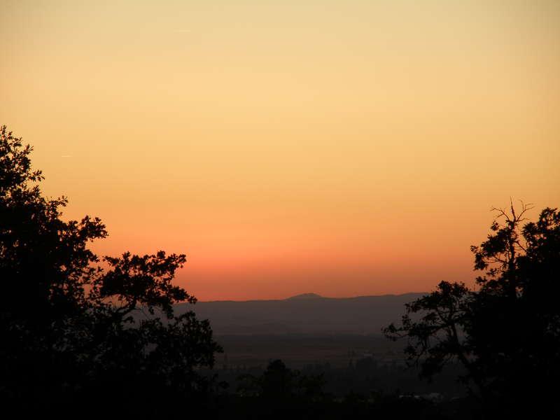 sunset...10-8-09