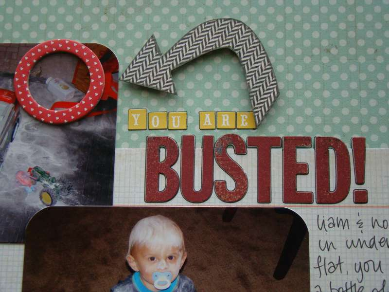 Busted - close up