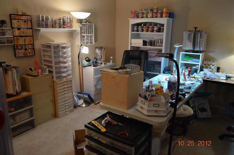 My Scraproom in progress