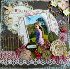 BEAUTY LIES WITHIN~~MY CREATIVE SCRAPBOOK~~~