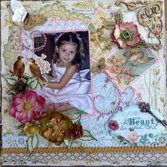 TRUE BEAUTY~~MY CREATIVE SCRAPBOOK~~
