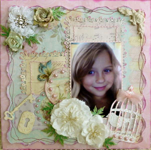 GROWING UP~MY CREATIVE SCRAPBOOK~