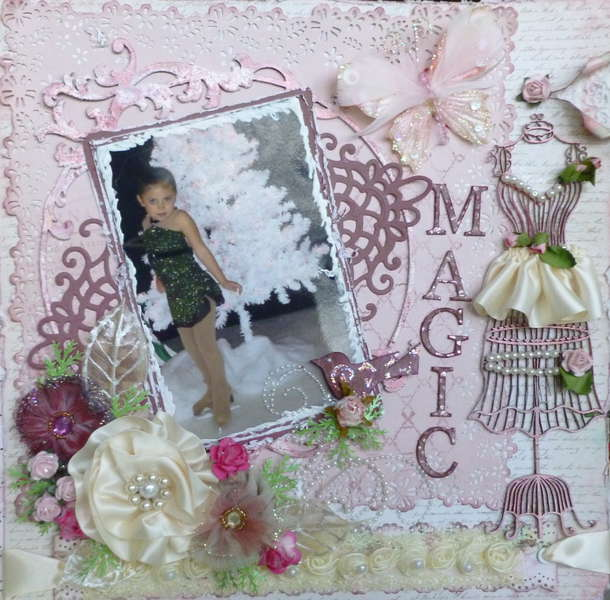 MAGIC~MY CREATIVE SCRAPBOOK~