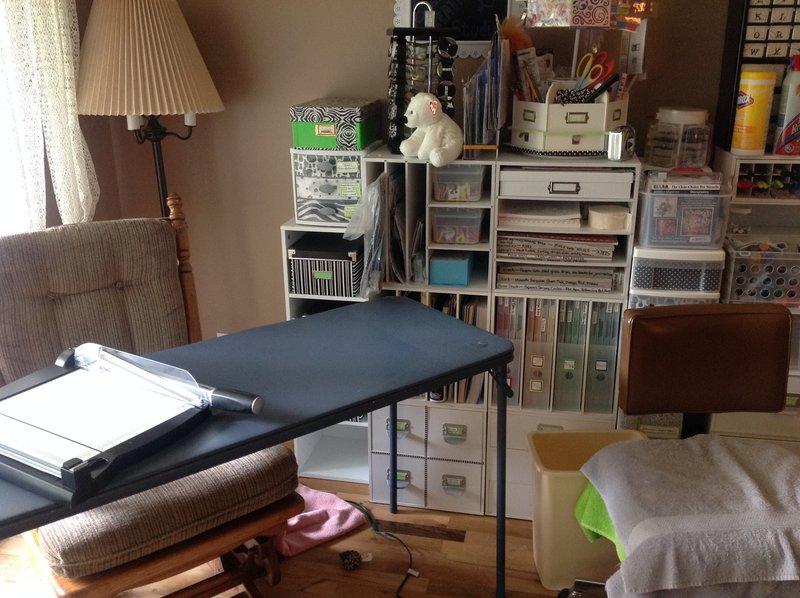 New Scrap/Craft Area