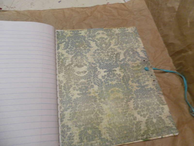 Back inside journal