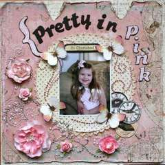 "Pretty in Pink --""Pink Challenge"""