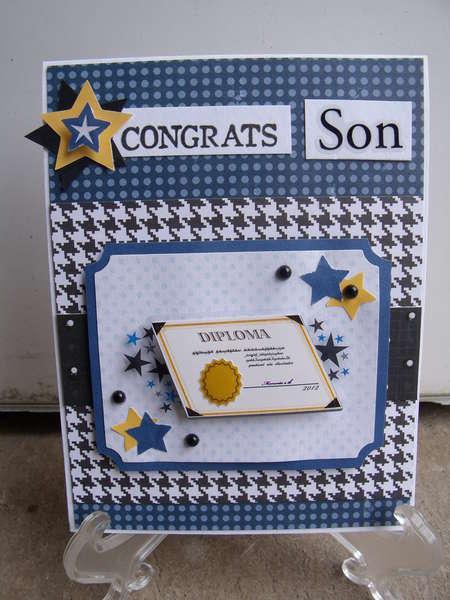 Congrats Son