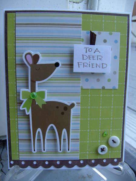 To A Deer Friend