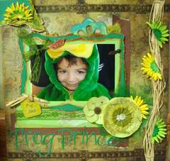 My Little Frog Prince