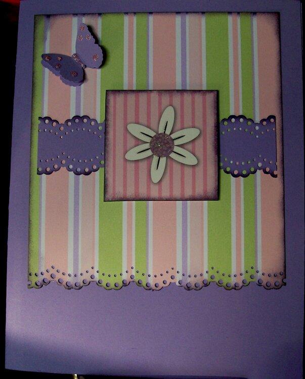 Purple Butterfly.....Scraps