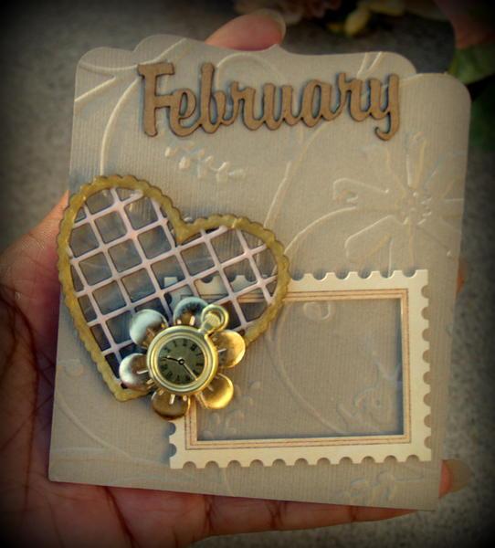 Perpetual Calendar  - Gina's Design Chipboard