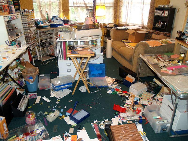 MLAF's Room after preparing for SWAPS!!!