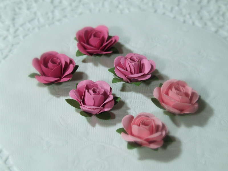 The sweetest little roses