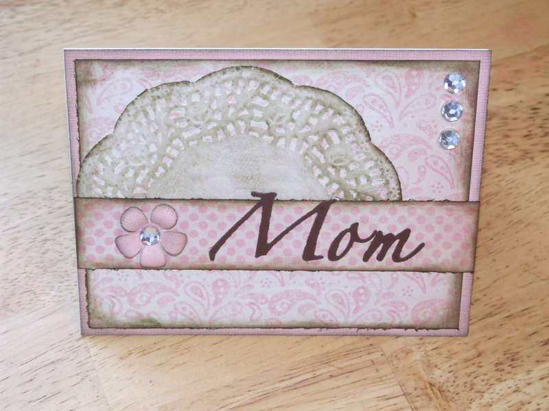 Mother's Day card for NSD challenge